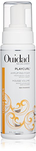 Ouidad PlayCurl Curl Amplifying Foam for Unisex, 8 Fl Oz