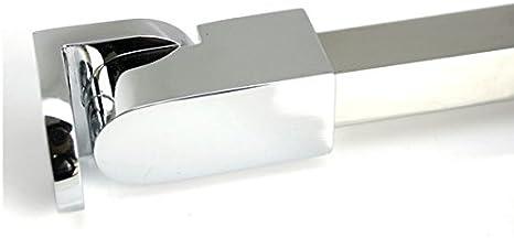Barras de apoyo de la pared al vidrio para colocar paneles de puerta de ducha, sin marco, acero inoxidable, para vidrios de 6 mm a 10 mm de grosor de M-Home: Amazon.es: