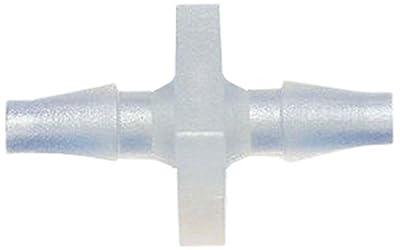 "MettleAir Polypropylene Plastic 1/8"" ID Hose Barb Mender/Splicer/Joiner/Union Fitting Tubing Hose Adapter/Coupler"