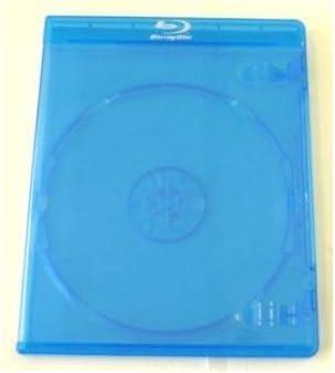 Mediarange - Juego de cajas para Blu-Ray (11mm, 10 unidades, capacidad 1 disco)
