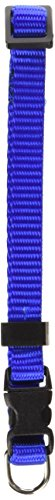8in   12in Adjustable Safety Cat Collar Blue By Majestic Pet Products ()