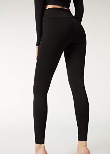 CALZEDONIA Femme TOTAL SHAPER Legging remodelant taille haute