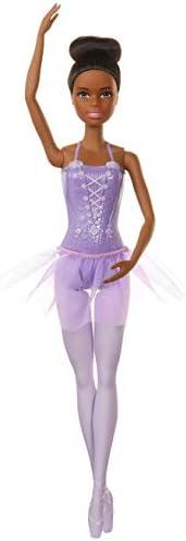 Barbie Ballerina Doll, Brunette, Purple Tutu