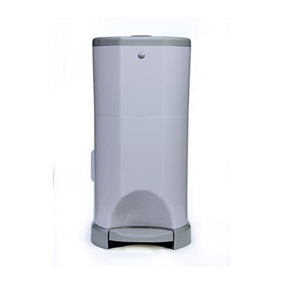 LittleGenie Handsfree Diaper Pail With Odor Control,ChildLock And Two Refills