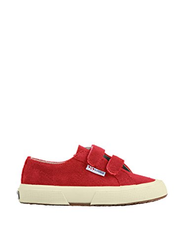 Superga 2750-SUEVJ S0038L0 - Zapatos bajos de cuero para Indian Red