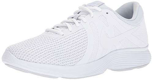 - Nike Men's Revolution 4 Running Shoe, White-Pure Platinum, 15 4E US