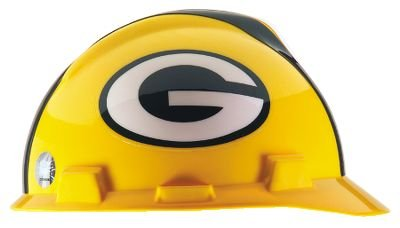 NFL Green Bay Packers Hard Hats RATCHET SUSPENSION 1