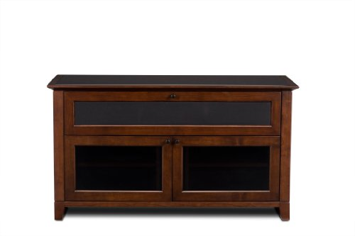 BDI Novia 8429-2 Triple Wide Entertainment Cabinet, Cocoa Stained Cherry
