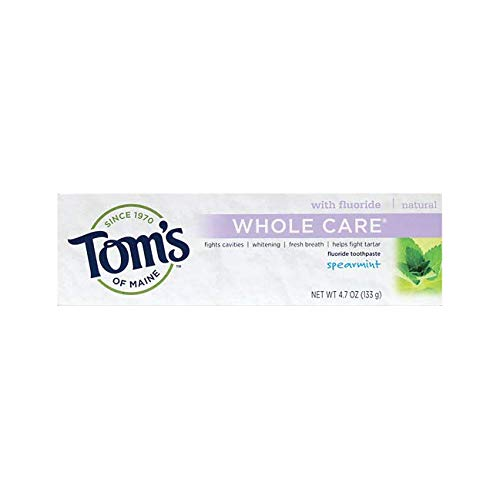 Tom's of Maine Whole Care Paste - 4.7 Ounce