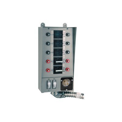 Reliance Controls Corporation 30310A Pro/Tran 30-Amp Indoor Transfer Switch for Generators Up to 7,500 Running Watts ()