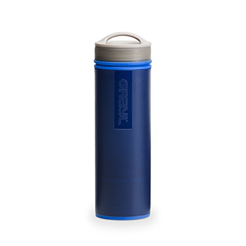 (GRAYL Ultralight Water Purifier [+ Filter] Bottle (Blue))