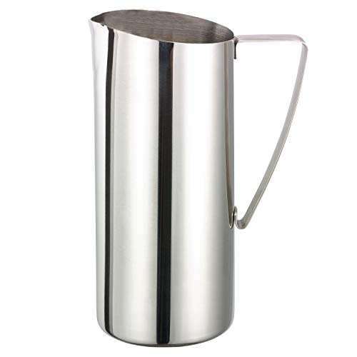 (Service Ideas X7025NG Water Pitcher, No Guard, Polished, 64 oz.)
