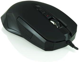 3Go Scorpion - Ratón óptico, USB, 2000 dpi