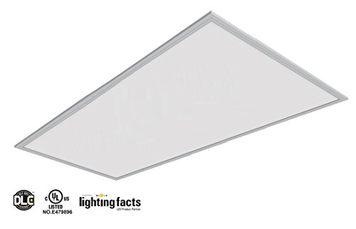 2Pack UL DLC4.2 100lm/W 50W LED Recessed Ceiling 2x4'' Dimmable Comercial LED Panel Light (4000K) by WennoW