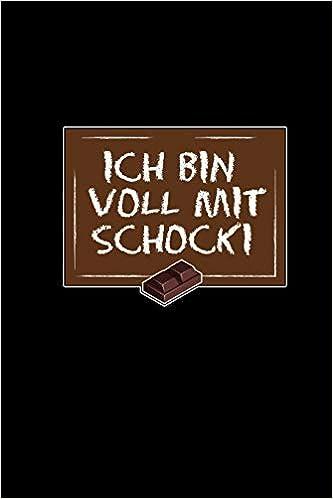 Ich Bin Voll Mit Schocki Notizbuch Spruch Punktraster Din