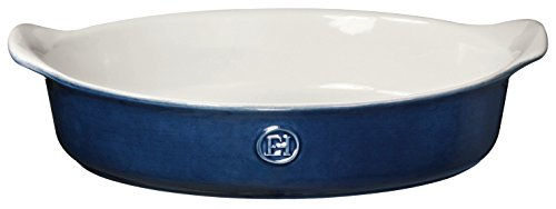 Emile Henry 559029 HR Ceramic Individual Oval Baker, Twilight