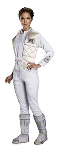Rubie's Women's Standard Star Wars Classic Princess Leia (Hoth), as as Shown, Medium -