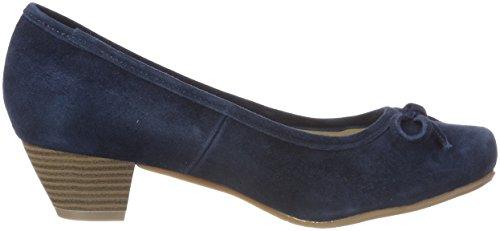Andrea Conti Damen 3003401 Pumps Blau (Dunkelblau)