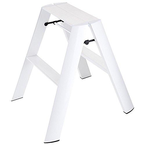 Hasegawa Ladders  Lucano Step Ladder, White from Hasegawa Ladders