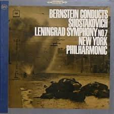 Bernstein Conducts Shostakovich Leningrad Symphony No. 7/ New York Philharmonic