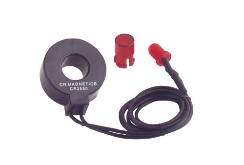 (CR Magnetics CR2550-R Low Cost Remote Current Indicator with Red LED, 0.75 AAC Turn-On Point)