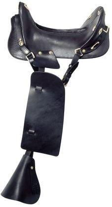 Royal King McClellan Cavalry Saddle Black 15 inch (Mcclellan Cavalry Saddle)
