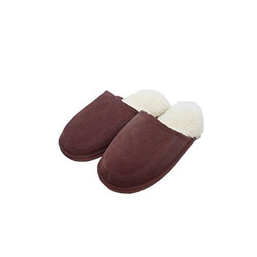 Eastern Counties Leather Unisex James Wool-Blend Mules Chocolate N8NHK