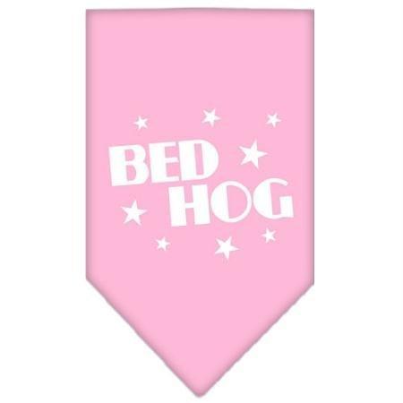 Dog Hog Pet Bed - Mirage Pet Products Bed Hog Screen Print Bandana for Pets, Large, Light Pink