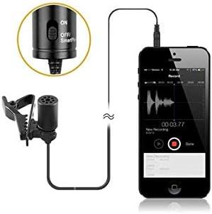 BOYA by-M1 3,5 mm Micrófono lavalier Negro para Smartphone y ...