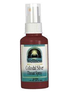 Source Naturals Wellness Colloidal Silver Throat Spray 30 Ppm - 1 oz (Colloidal Silver Throat Spray)