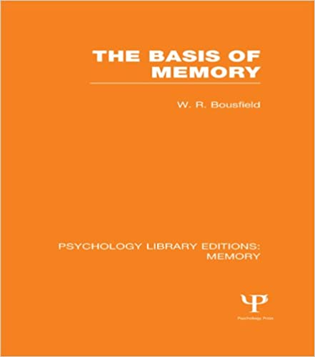 The Basis of Memory (PLE: Memory): Volume 3 (Psychology