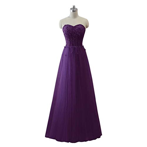 Ballkleider King's 67 Tulle Love Long Formal Frauen Perlen Maxi Abendkleid Schatz 44zOHqn16