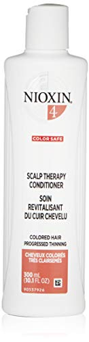 Nioxin System 4 Scalp Therapy Conditioner, Peppermint Oil, 10.1 Fl Oz