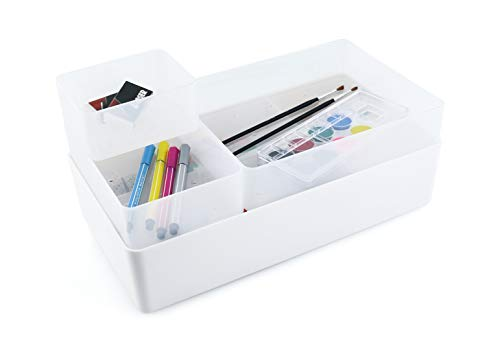 P-Life Smart Caddy Bathroom Organizer Bins and caddy.