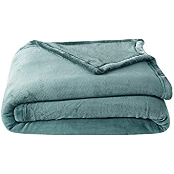 Chezmoi Collection Reversible Cuddly Sherpa Fuzzy Warm Winter Blanket Teal