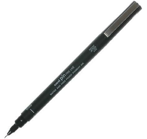Uni Pen 200 5pc Wallet .05,.1,.3,.5,.8mm
