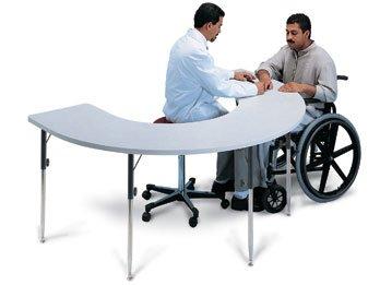 Hausmann Horseshoe Table -Model 6674