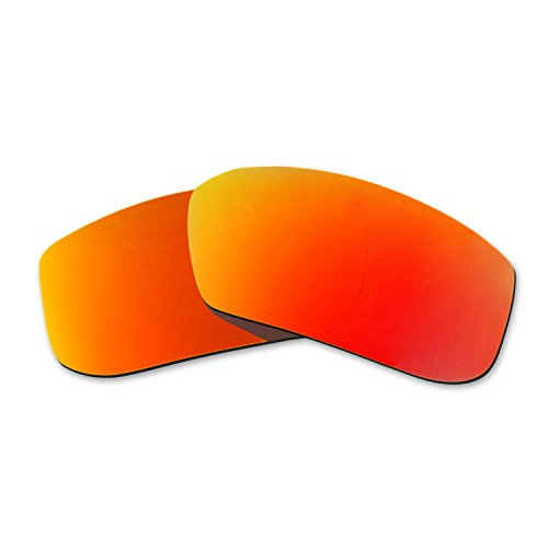 Hkuco Mens Replacement Lenses For Spy Optic McCoy Sunglasses red