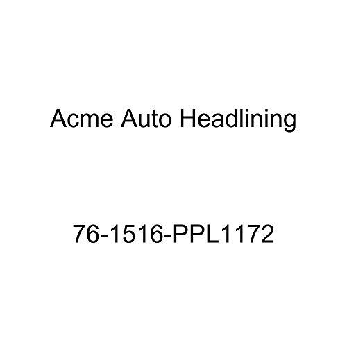 Pontiac Bonneville Hardtop - Acme Auto Headlining 76-1516-PPL1172 Brown Replacement Headliner (1976 Pontiac Bonneville 4 Door Hardtop (6 Bow))