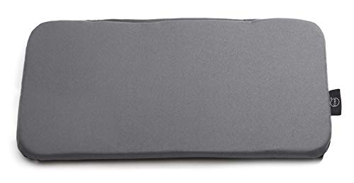 Finn TM Soft Sided Pet Carrier Travel Bed, Large (Wipe-Clean, Grey)