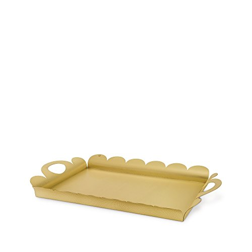 - Alessi AM02 BR Recinto Tray in Brass
