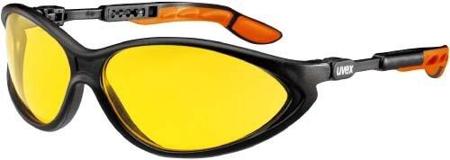UVEX Schutzbrille cybric amber