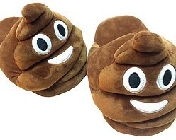 0d31af75ee22 KIDS UNISEX  POO  EMOJI SLIPPERS - Now you can wear your favourite Emoji on