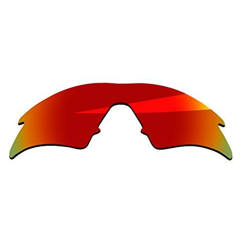 714ae132071e BlazerBuck Anti-salt Polarized Replacement Lenses   Sock Kit for Oakley M  Frame Sweep - Fire Red. Fire Red