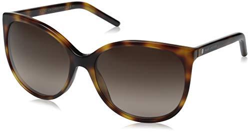 (Marc Jacobs Women's Marc79s Square Sunglasses, HAVANA/BROWN GRADIENT, 56 mm)