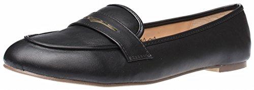 Fitters Footwear , Ballerines Pour Femme Noir Black Pu
