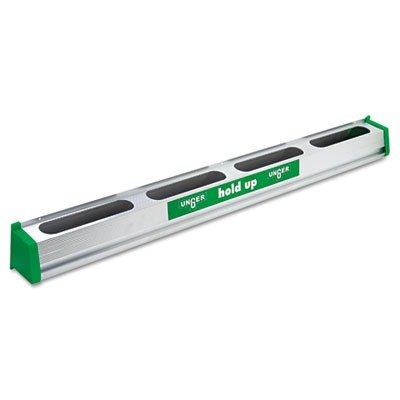 UNGHU900 Hold Up Aluminum Tool Rack, 36quot;, Green/Silver