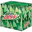 Mountain Dew Org. 12 oz. (355 mL) - 24 Pack