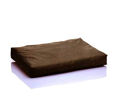 Boss cama de piel sintética para perros perro ematraze ...