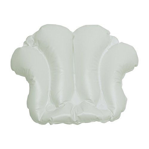 Richards Homewares Shell Spa bain coussin, blanc
